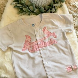 St. Louis Cardinals Youth Pink Jersey